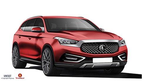 Hôm nay 02/10/2017, Vinfast công bố 20 mẫu xe Sedan và SUV