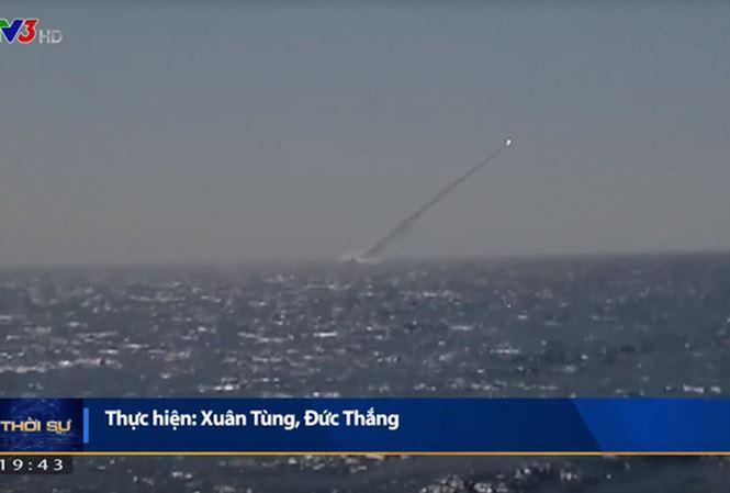 Tàu ngầm Kilo Việt Nam lần đầu phóng tên lửa Klub