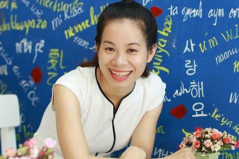 Nữ giáo viên tiếng Anh