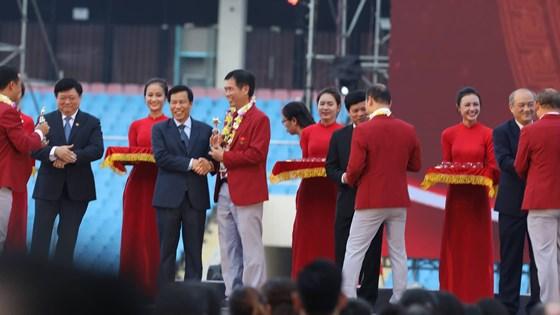 Lễ vinh danh thành tích Đoàn thể thao Việt Nam tại ASIAD 2018
