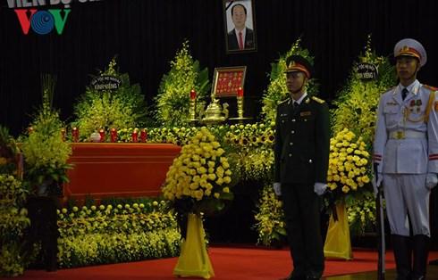 Những hình ảnh đầu tiên về ngày Quốc tang Chủ tịch nước Trần Đại Quang
